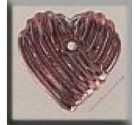 12215 Grooved Heart Rose